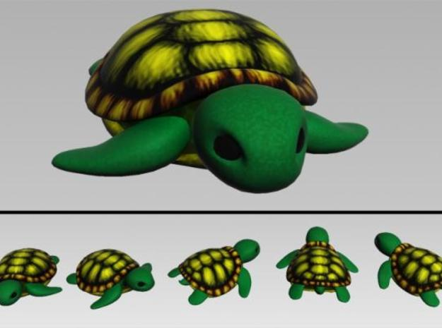 Concha: Little Turtle (1 piece) 3d printed Render Preview