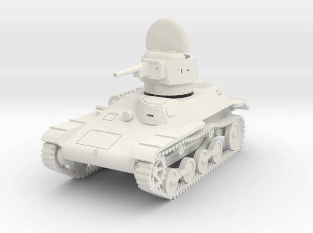 PV46F Type 97 Te Ke Tankette (1/30) in White Natural Versatile Plastic