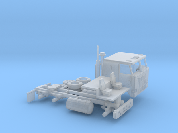 1/87 Mack Cruise-Liner Cabover Kit in Smooth Fine Detail Plastic