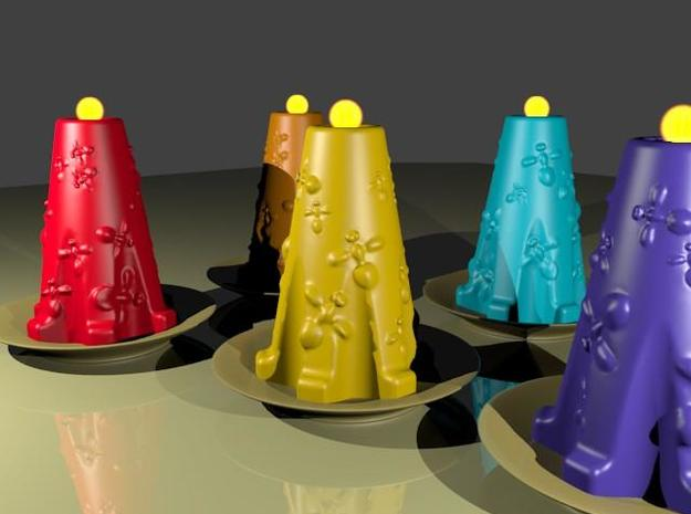 candle maker 3d printed