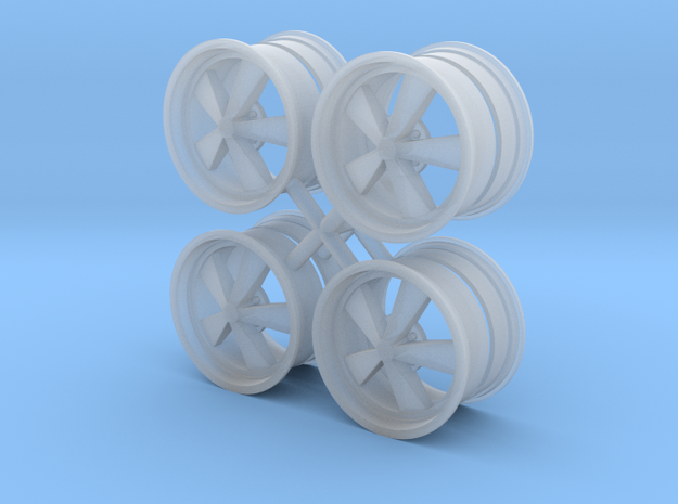 HotWheels 1/24 wheel 15x9 in Smooth Fine Detail Plastic