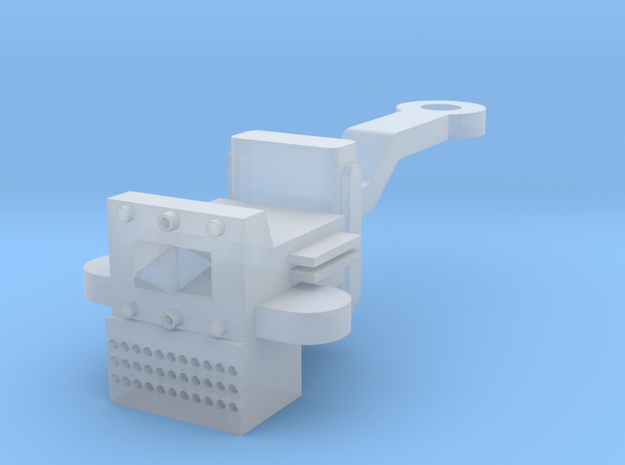 O Scale P & W Brill Bullet Coupler in Smooth Fine Detail Plastic