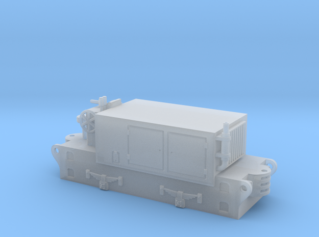 OD2 diesel shunter / diesel da manovra in Smooth Fine Detail Plastic