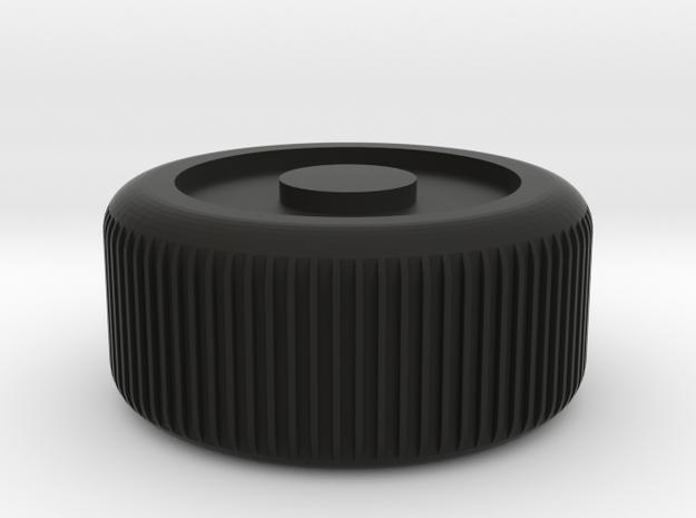 Truck wheel in Black Natural Versatile Plastic