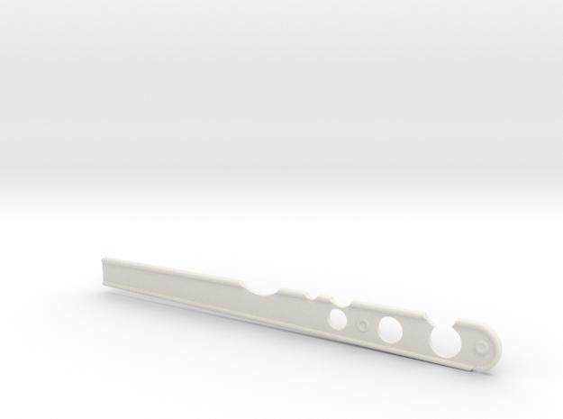 B Guard Stir Stick Damaged in White Natural Versatile Plastic