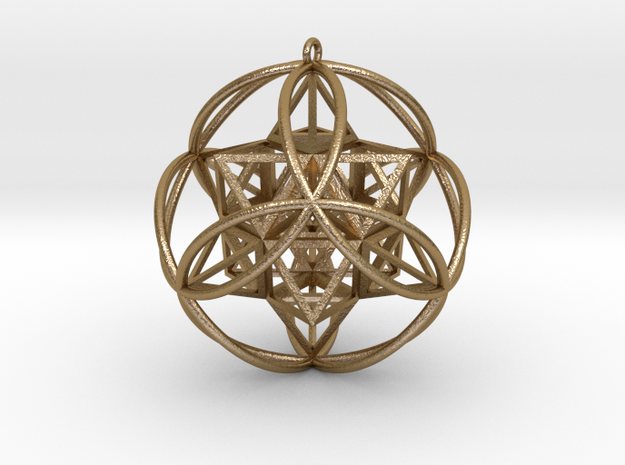 Stellated Vector Equilibrium Pendant