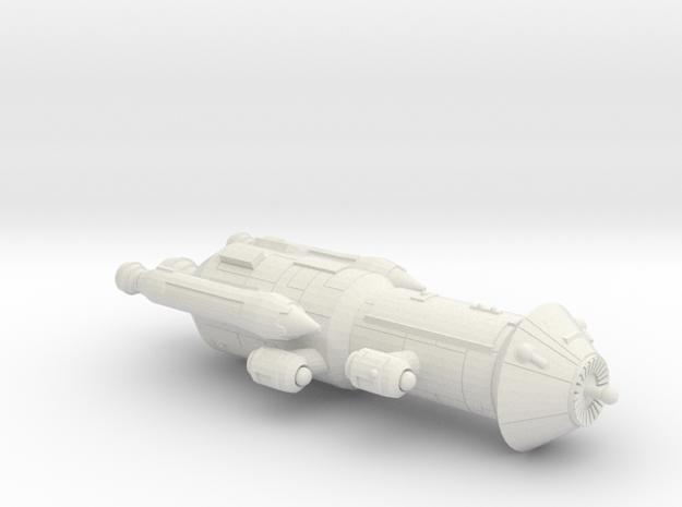3125 Scale Iridani Caravel-B MGL in White Natural Versatile Plastic