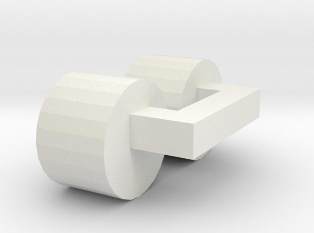 G2 Wiener Strassenbahn Scheinwerfer in White Natural Versatile Plastic