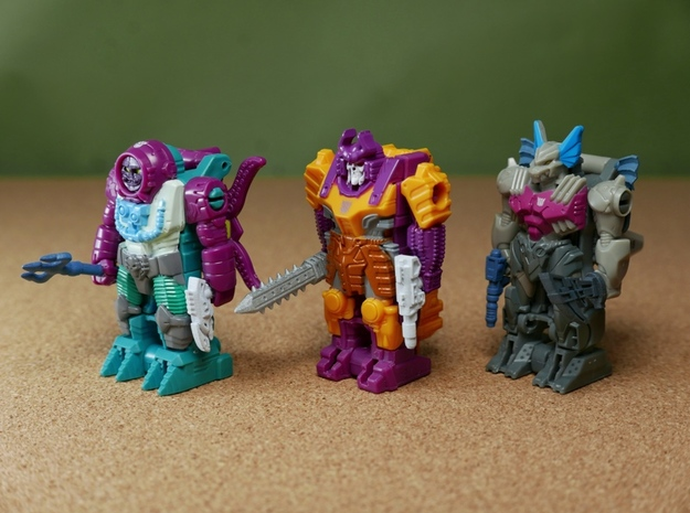 PrimeMasterWeaponsWave3 in Smoothest Fine Detail Plastic