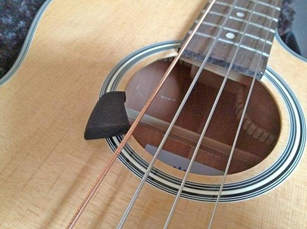 Acoustic Bass Guitar Thumb Rest 3d printed