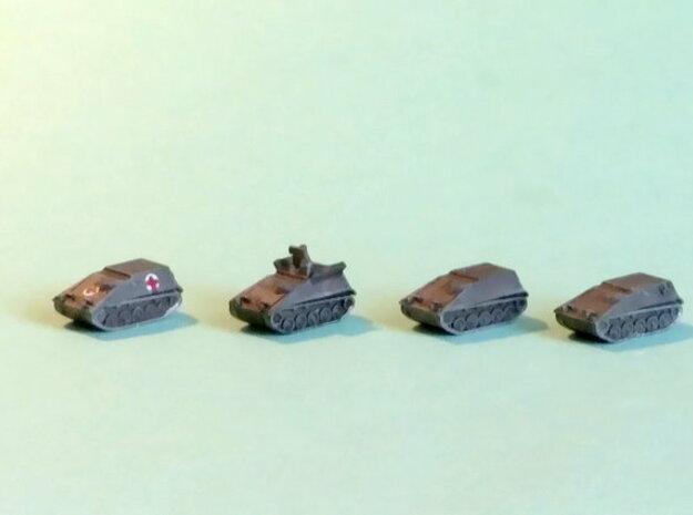 Hotchkiss SPz Kurz Variants 1/285 6mm in Smooth Fine Detail Plastic