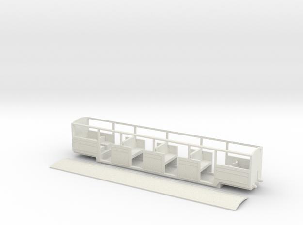 RH&DR 20 seater open in White Natural Versatile Plastic
