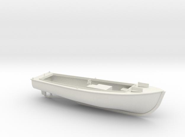 Kriegsmarine Verkehrsboot in 1:35 in White Natural Versatile Plastic