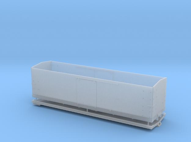 "CS Type III 10"" Murphy Roof Box Car HOn3"