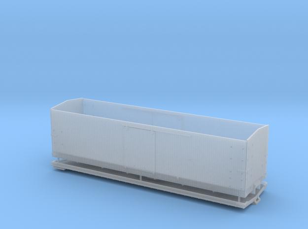 "CS Type III 12"" Murphy Roof Box Car HOn3"