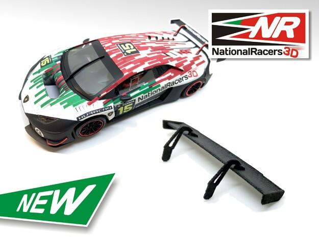2x 3D Rear Wing - SideWays Lamborghini Huracan