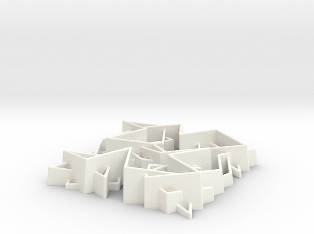 Knight V56t2 in White Processed Versatile Plastic