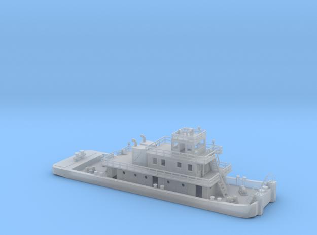 128' Pusher Boat in Z scale