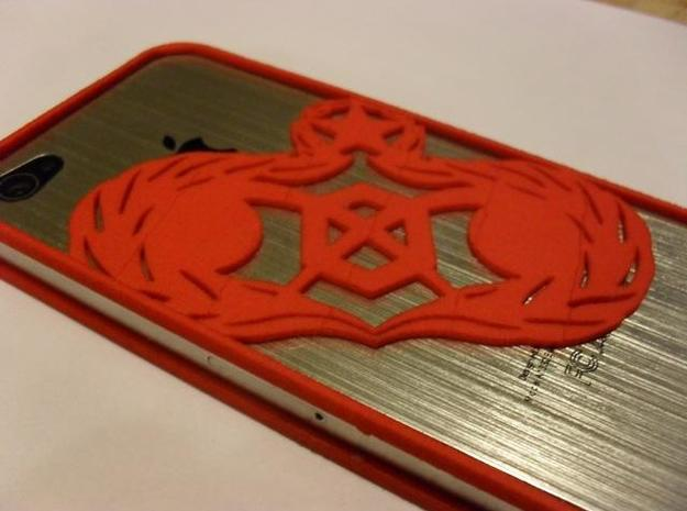 iPhone 4 - 3E9X1 Retort Bumper 3d printed