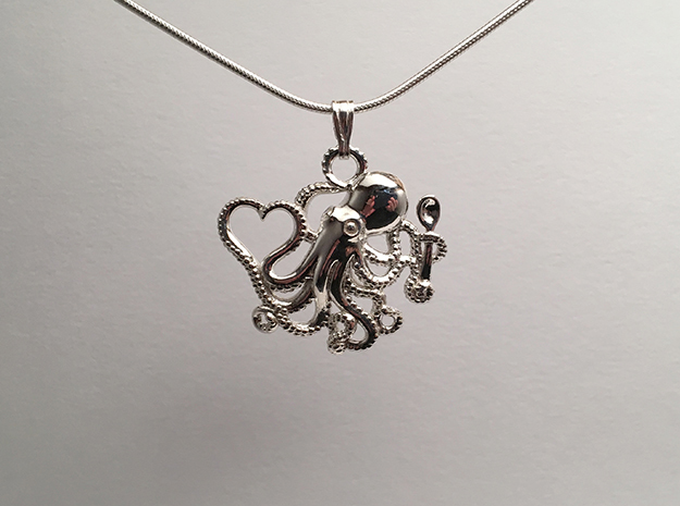 Octopus with Heart & Spoon