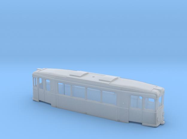 Gehäuse Crede ZR Triebwagen Üstra in Smooth Fine Detail Plastic