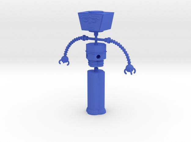 Computra Figure in Blue Processed Versatile Plastic