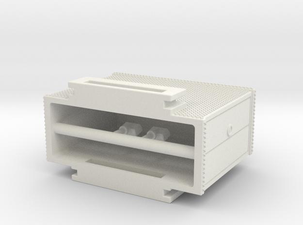 1/87 Mack CF rear mount cabinet
