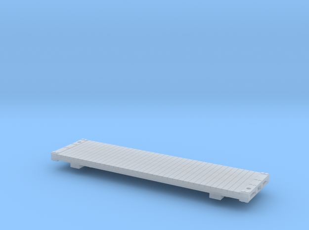 Gilpin Flat Car in Smooth Fine Detail Plastic