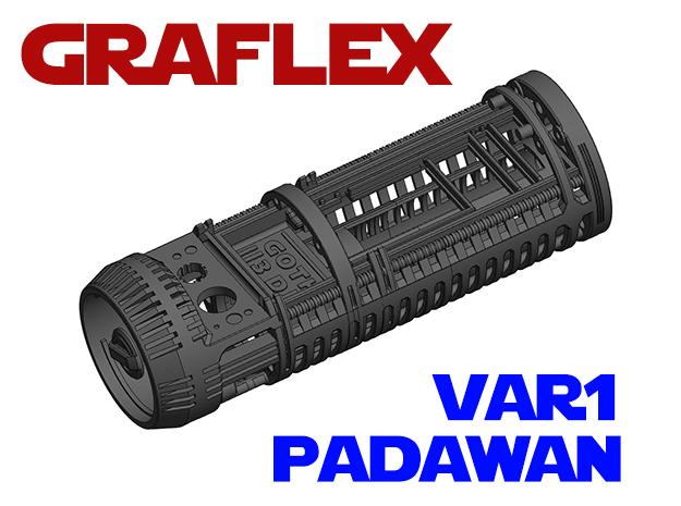Graflex Padawan Var1 - Lightsaber Chassis