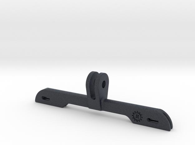 Number Holder for GoPro Mount in Black Professional Plastic