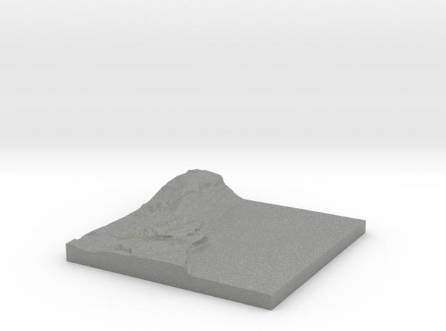 "Piermont Topo Map 2x: 6""x6"" in Gray PA12"