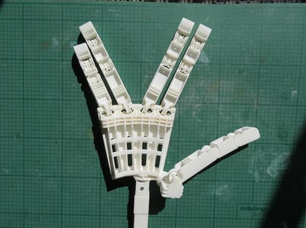 Anthromod Mk 2 Right Hand 3d printed Live long and prosper
