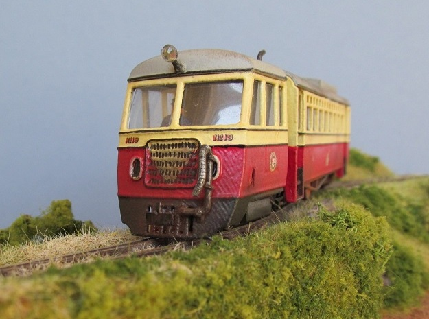 009  Atkinson Walker Railcar Cab - C in White Processed Versatile Plastic