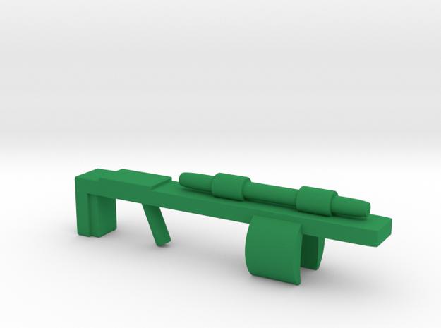 Galactic Warrior GX-19 in Green Processed Versatile Plastic