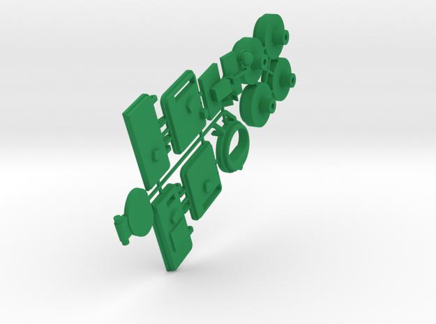 Large Peacekeeper Part 2 in Green Processed Versatile Plastic: 1:43