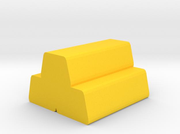 Game Piece, Ingots in Yellow Processed Versatile Plastic