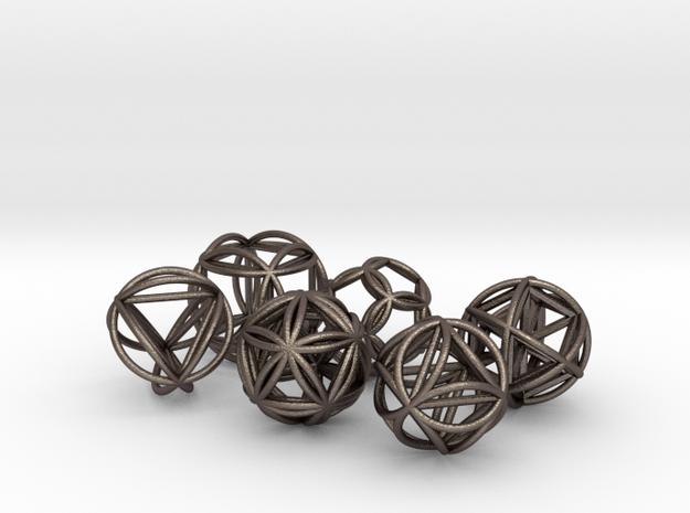 Metatronic Spheres w/ Nested Metatronic Solids