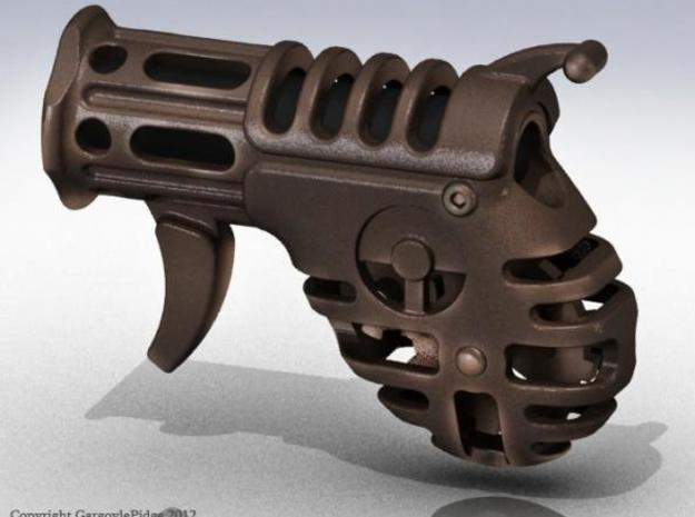 Steampunk Flashlight - Derringer 3d printed Render of Steampunk Flashlight