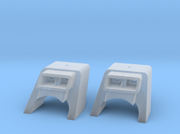 KWIL Assembly of Two in 1-1400th Scale in Smooth Fine Detail Plastic