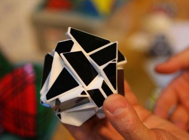 Ghost Cube 3d printed