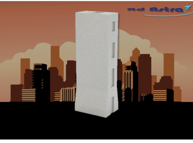 Solow Building - New York (1:4000) in White Natural Versatile Plastic