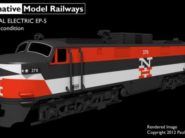 NEP501 N scale EP-5 loco - as built