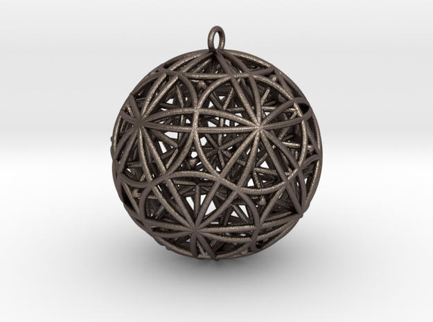 Stellated Rhombicosidodecahedron Pendant