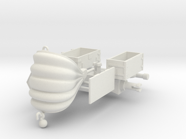 FORGE DE CAMPAGNE 2  in White Natural Versatile Plastic