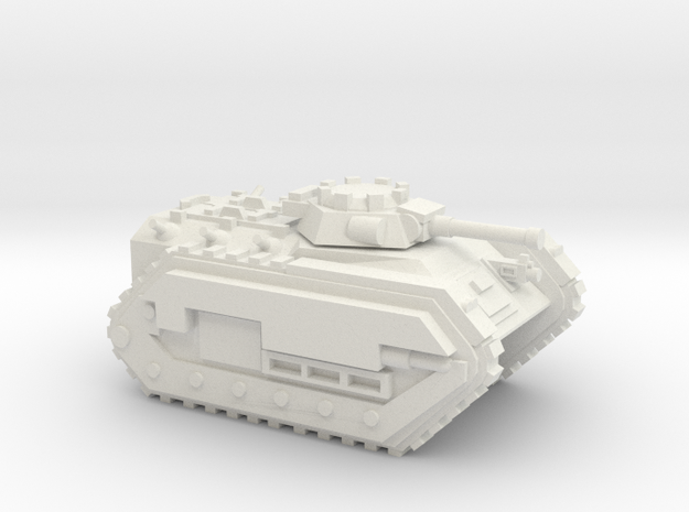 15mm Infantry Fighting Vehicle in White Natural Versatile Plastic