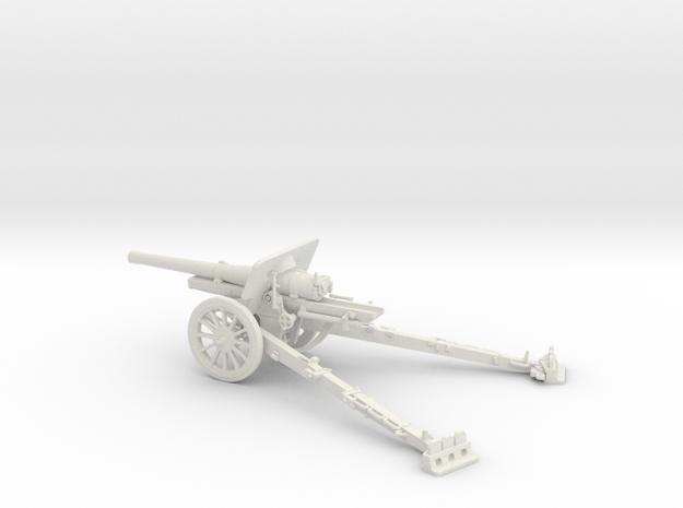 1/48 IJA Type 96 15cm Howitzer in White Natural Versatile Plastic