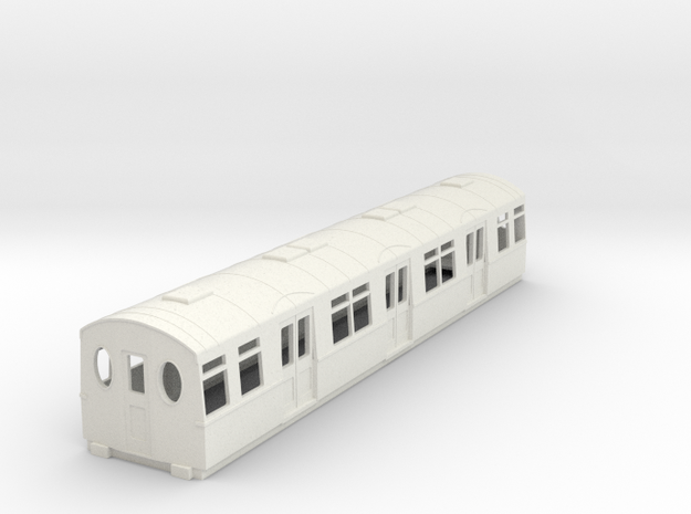 o-76-district-f-centre-trailer-coach in White Natural Versatile Plastic