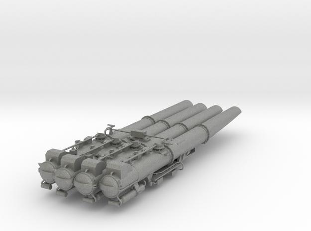 Torpedovierlingswerfer für Graf Spee 1:100