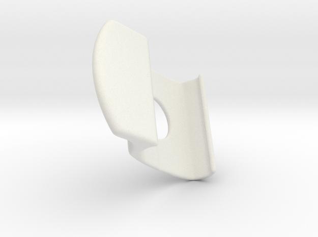 Handle EFF B in White Natural Versatile Plastic