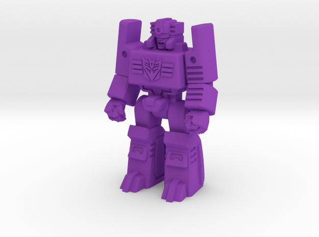 Masterforce Browning Decoy/Miniature in Purple Processed Versatile Plastic: Small